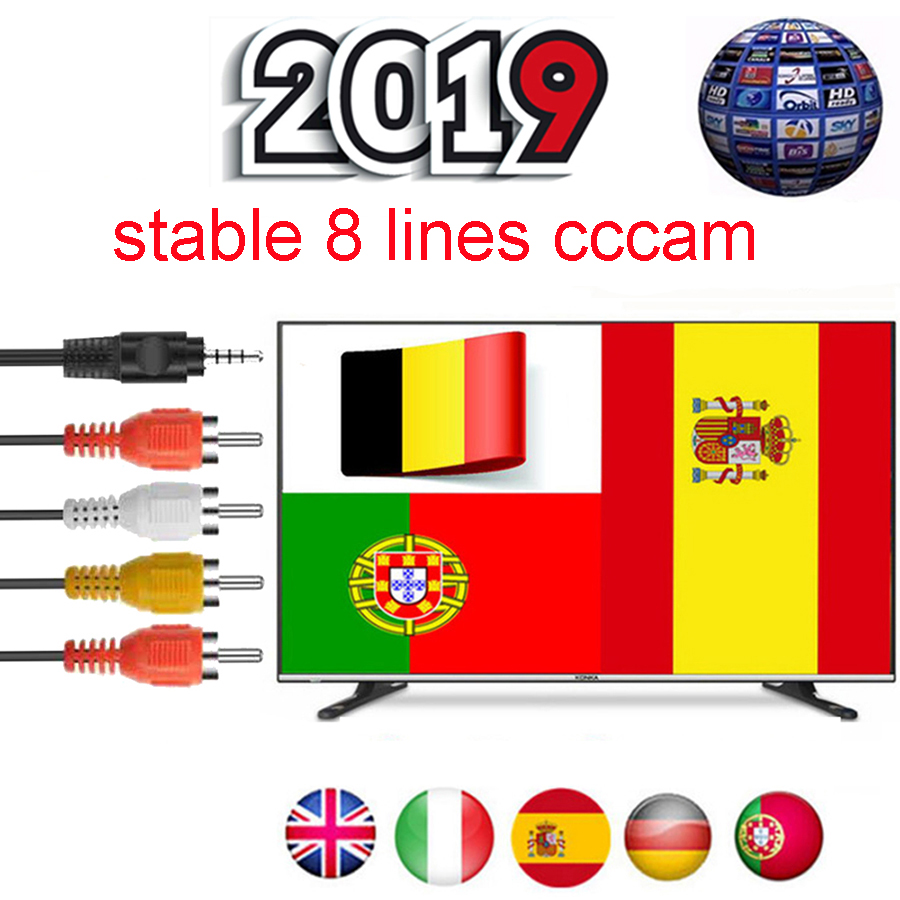 Cccams Server HD Cccams Cline 1 year for Europe DVB S2 HD Satellite