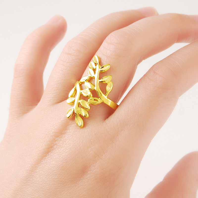24K Pure Gold Rings...