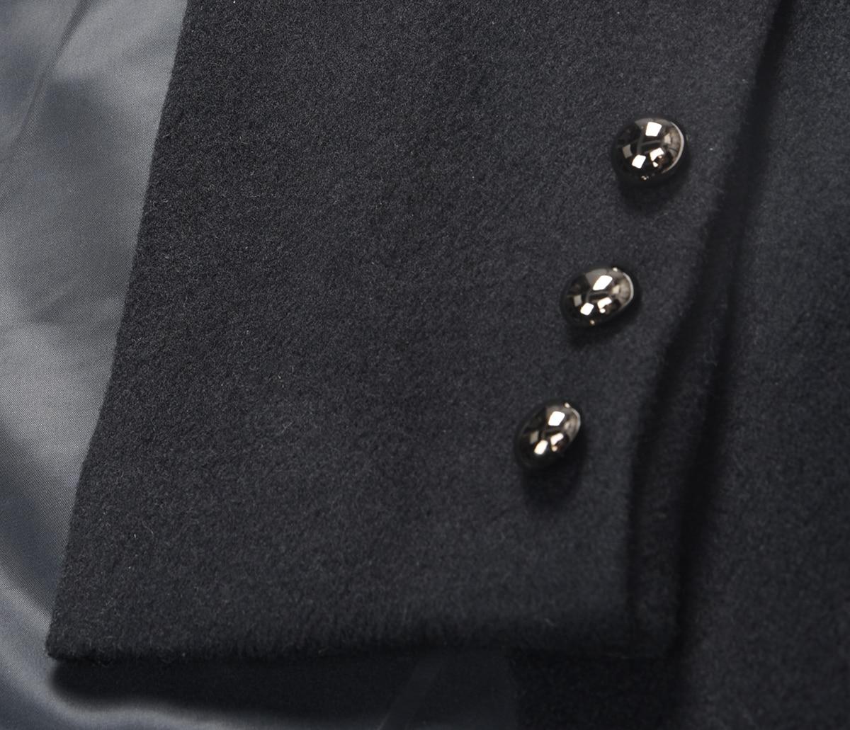 Lâche Femmes Boutonnage Longue Noir Printemps Irrégulière eam Revers Commune Double 2019 Fendue Veste Jg667 Manteau Black Nouveau Mode PwwqvBO4