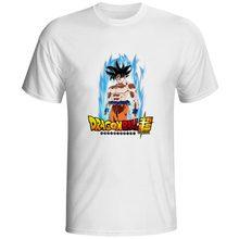 Son Goku Ultra Instinct T Shirt Japanese Anime Cartoon Dragon Ball Super Funny Cool Skate T-shirt Pop Rock Casual Tee Men Women