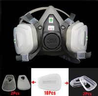 15 in 1 3 M 6200 Mezza Viso Respiratore maschera Antigas Verniciatura A Spruzzo Settore di Protezione Da Lavoro di Sicurezza Respiratore maschera Antipolvere