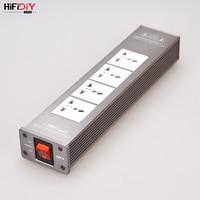HIFIDIY LIVE AC2.2 HIFI audio power filter socket HiFi Power Filter Plant Schuko Socket