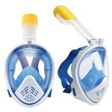 Новая маска для подводного плавания полный уход за кожей лица маска для подводного плавания подводная противотуманная маска для подводного плавания для Плавание Подводная охота погружения Для мужчин