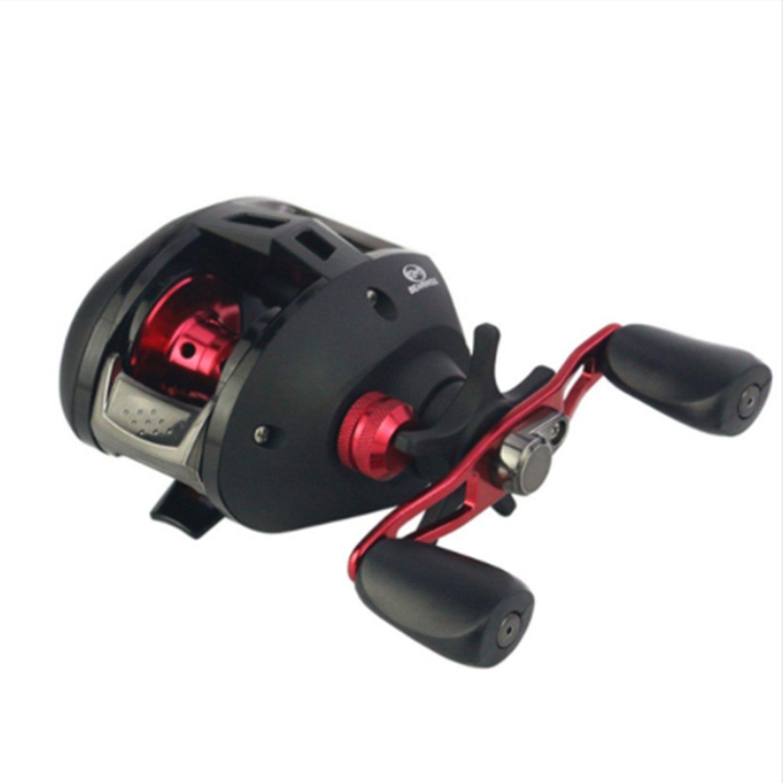 HOT-YUMOSHI 7.3:1 Bait casting Fishing Reel 12+1BB Baitcasting Reel Aluminum Spool Carretilha Pesca Carp Fishing Gear цена