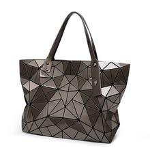 2017 Fashion Bag Women Tote laser Bag summer Geometric Hand Bags bao bao Handbag ladies Famous