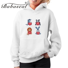 Babaseal Aesthetic Women Sweatshirt Casual Designer Hoodies Frida Kahlo Harajuku Hoodie 3d Printer Rabbit Hoodie