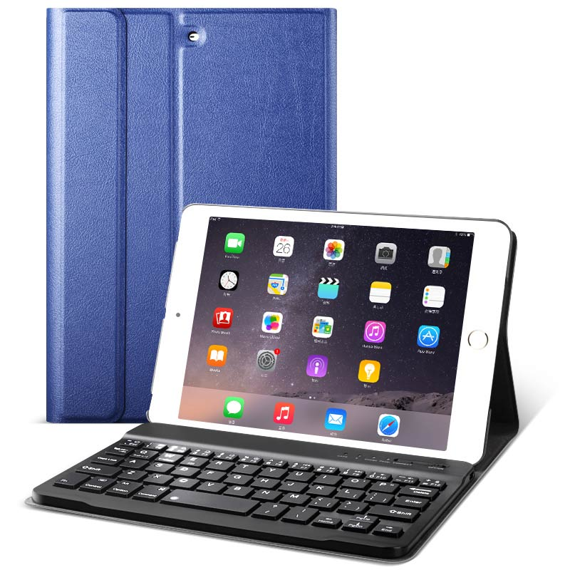 for iPad mini Keyboard case 7.9 inch Bluetooth wireless connection for iPad mini 1 2 3 keyboard Wireless protective cover