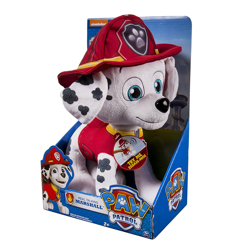 Paw Patrol dog Plush Toy Cartoon Movie Children Doll Patrol Dog Toy Puppy Anime Canina Soft Stuffed Animal Kids Toy hot sale short plush chew squeaky pet dog toy