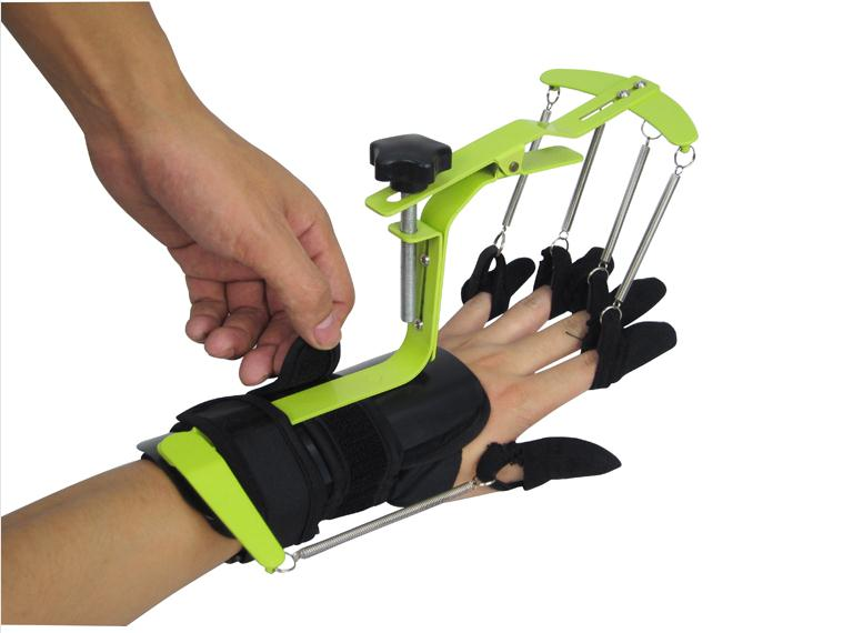 Hand PHYSIOTHERAPY & REHABILITATION Training Equipment Dynamic Wrist and finger Orthosis for HEMIPLEGIA Patients' Tendon repair hand wrist orthosis separate finger flex spasm extension board splint apoplexy hemiplegia right left men women