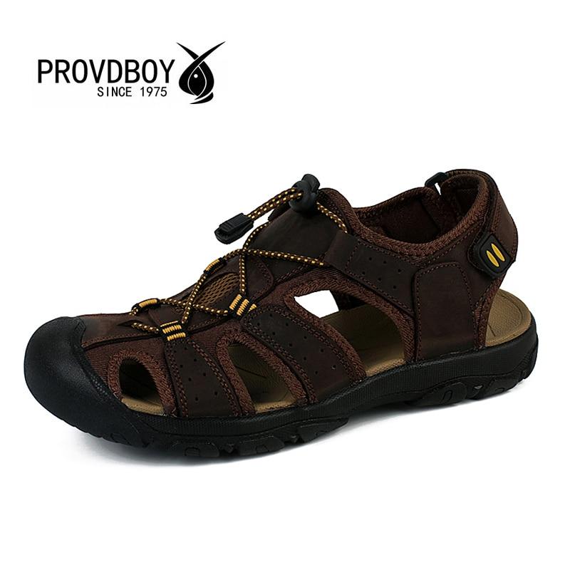 Men aqua outdoor sandals breathable summer upsteam river water rubber soles fishing hiking mens shoes zapatillas trekking hombre