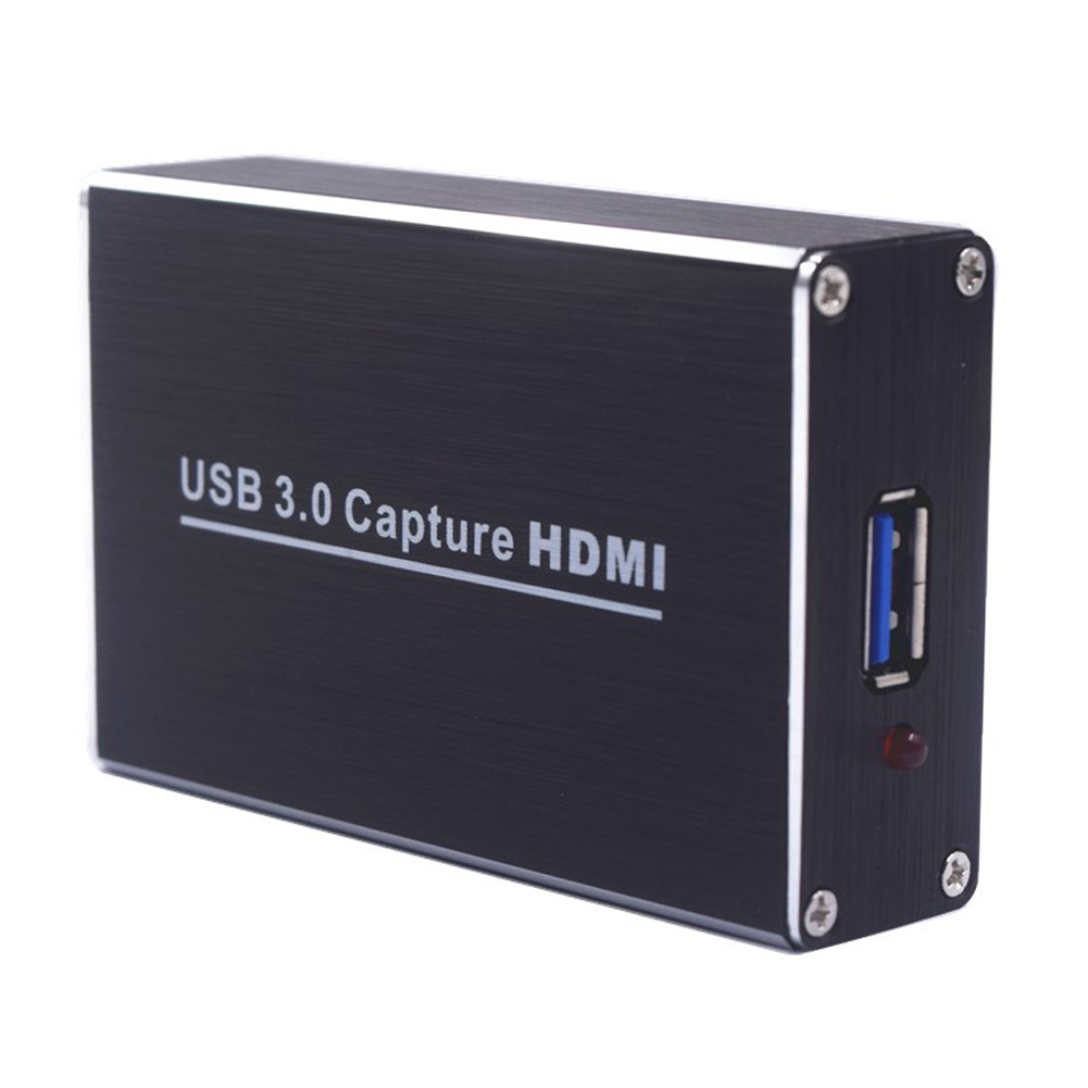 HDMI to USB3.0 Video Capture Dongle Video Adapter 480p to 1080p Audio Converter for Windows Linux Mac OS X cyf 403 480mbps rca to usb video capture adapter w audio for mac black