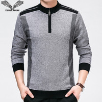 VISADA JAUNA 2017 New Autumn Winter Men Sweaters Casual Fashion Men S Slim Fit Knitting Sweaters