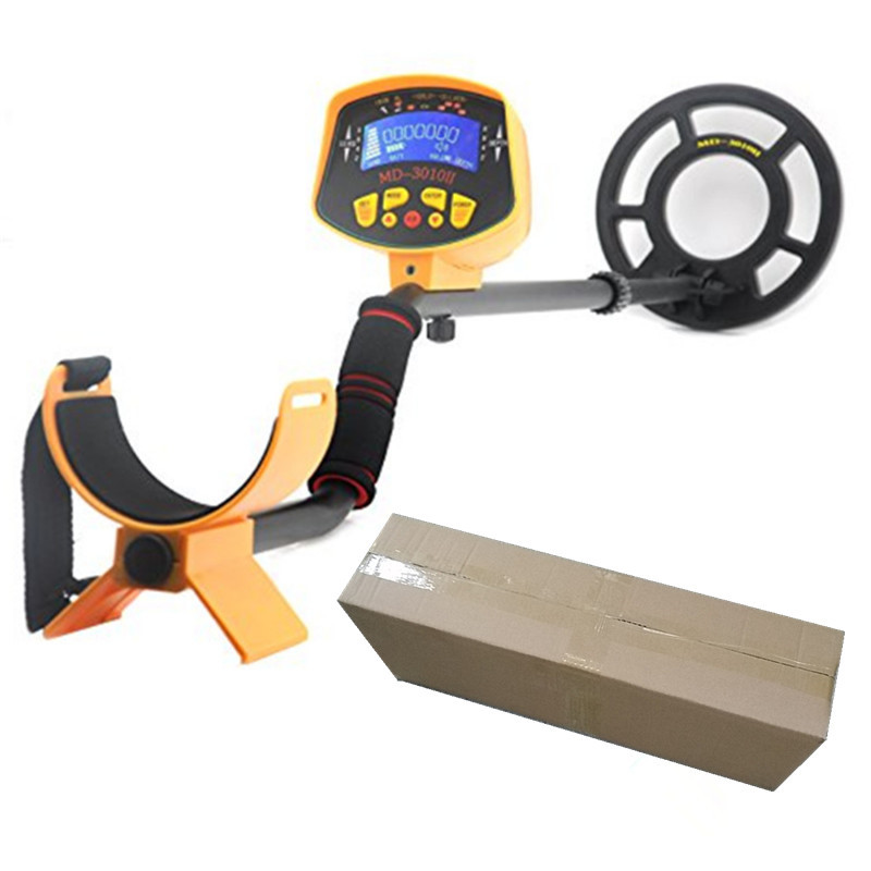 2016 Newest deep Metal Detector Md-3010ii Underground gold metal Detector With Lcd Display Gold Treasure Hunter  detector de metal deep gold underground metal detector md 3010 ii with lcd