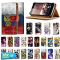 Hot!! For Doogee X6/Doogee X6 pro Universal Adjustable Flip Wallet Leather Cover For Gionee Elife E7/kingzone Z1 Case Big Size