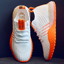 2019 Platform Sock Women Black Orange Green Off White Sneakers Chunky Shoes Mesh Tenis Feminino Trainers Casual Shoes(China)