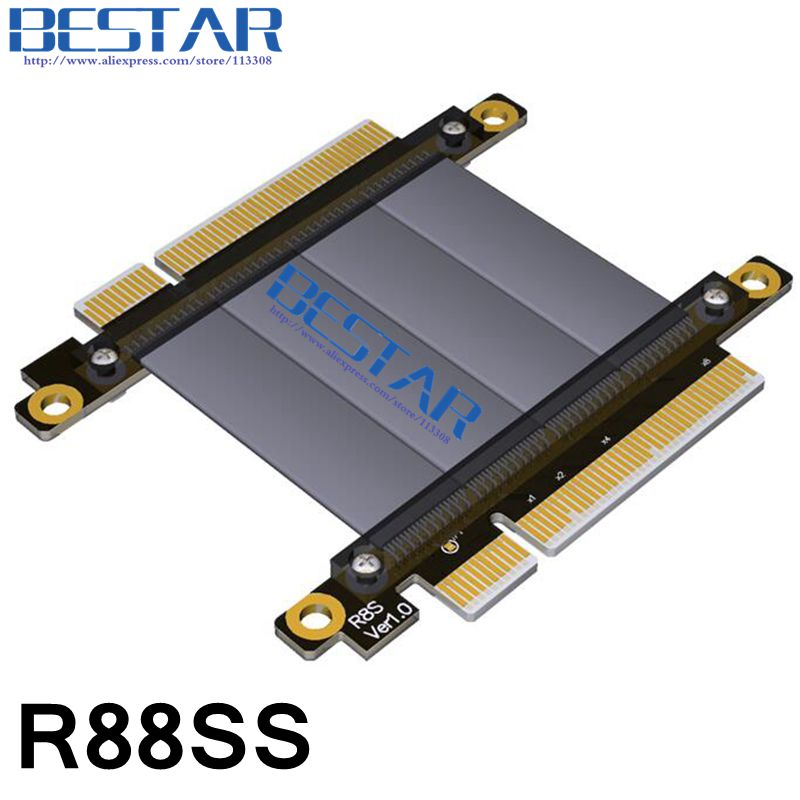 Gen3.0 pcie 8x male to 8x male Extender cord , pci-e x8 to x8 riser adapter Jump Graphics Extension Cable 64Gbps Customized coreldraw x8 самоучитель
