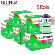 1-5 Roll/lot Fujifilm Fujicolor C200 Color 35mm Film 36 Exposure for 135 Format Camera Lomo Holga 135 BC Lomo Camera Dedicated(China)