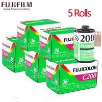 5 Roll/lot Fujifilm Fujicolor C200 Color 35mm Film 36 Exposure for 135 Format Camera Lomo Holga 135 BC Lomo Camera Dedicated