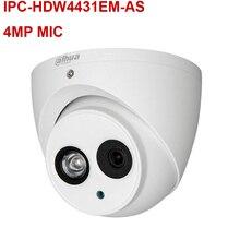 Dahua IPC-HDW4431EM-AS 4MP IR Eyeball Network Camera H.265 POE MIC WDR Micro SD memory IP67 CCTV Security