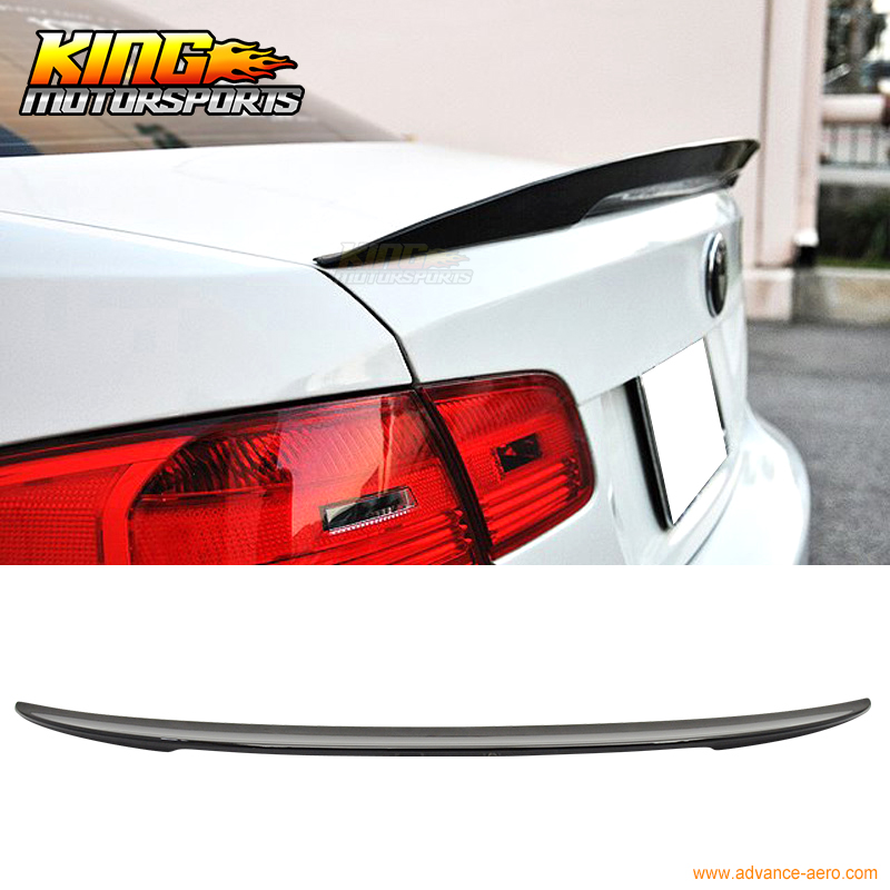For 2007 2008 2009 2010 2011 2012 2013  BMW E92 Coupe P Style Color Code #475 Painted Trunk Spoiler car rear trunk security shield shade cargo cover for nissan qashqai 2008 2009 2010 2011 2012 2013 black beige