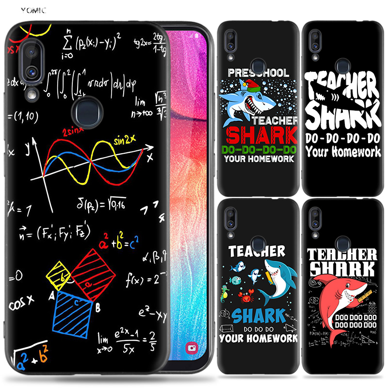 Earnest Silicone Case For Samsung Galaxy A30 A50 A10 A20 A60 A40 M10 M20 M30 A6 A8 J4 J6 J8 Plus A7 A9 2018 Teacher Artist Chemist Docto Cellphones & Telecommunications Fitted Cases