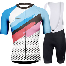 Ropa de hombre 2019 Runchita summer Refreshing style cycling clothing set short sleeve ropa ciclismo mtb Roupa