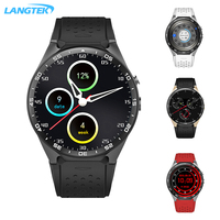 LANGTEK KW88 3G WIFI GPS Bluetooth Smart Watch Android 5 1 1 39 Inch 2 0MP