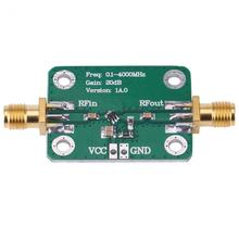 0.1-4000MHz Broadband Wideband Microwave RF Amplifier Module Gain 20dB High Quality  New Arrival ultra wideband rf amplifier hf amplifier linear amplifier 1mhz to 130mhz 6w 43db
