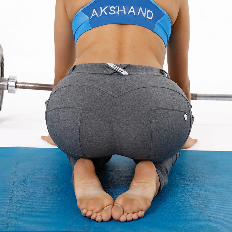 4a997860d AK's hand korea sticky legging yoga pants custom legging silicon butt lift  women yoga clothing brands