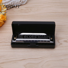 10 Holes Harmonica Diatonic Blues Harp Woodwind Music Instrument Mouth Organ For Blues Rock Country Folk Jazz Melodica Jul4_20