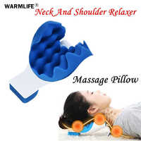 Neck and Shoulder Relaxing Pillow Neck Massage Alleviate Snoring Sleep Quietly EMS Muscle Stimulator