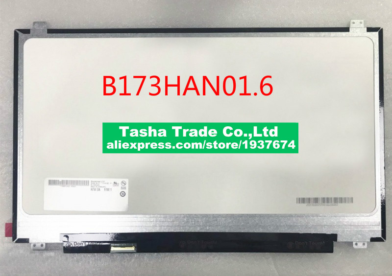 120HZ Matrix 1080p IPS 17.3EDP 40Pin LAPTOP LCD panel FHD B173HAN01.6 B173HAN01 EDP interface high score IPS screen120HZ Matrix 1080p IPS 17.3EDP 40Pin LAPTOP LCD panel FHD B173HAN01.6 B173HAN01 EDP interface high score IPS screen