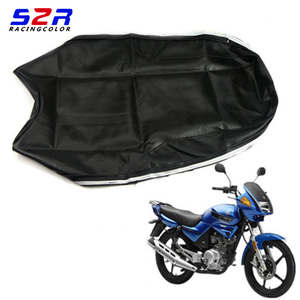 Image 1 - S2 r غطاء مقعد الدراجة النارية لياماها YBR125 YS150 YBR YB 125 YS150 العالمي سكوتر وسادة جلدية
