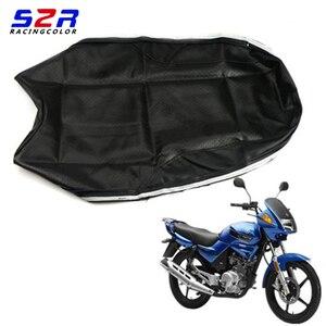 Image 1 - S2R אופנוע מושב כיסוי עבור ימאהה YBR125 YS150 YBR YB 125 YS150 אוניברסלי קטנוע כרית עור מקרה