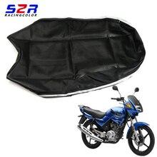 S2R motosiklet koltuk örtüsü YAMAHA YBR125 YS150 YBR YB 125 YS150 evrensel Scooter yastık deri kılıf
