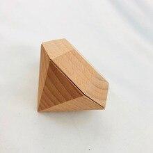 Diamond Wedding Ring Box Holder Wooden Ring