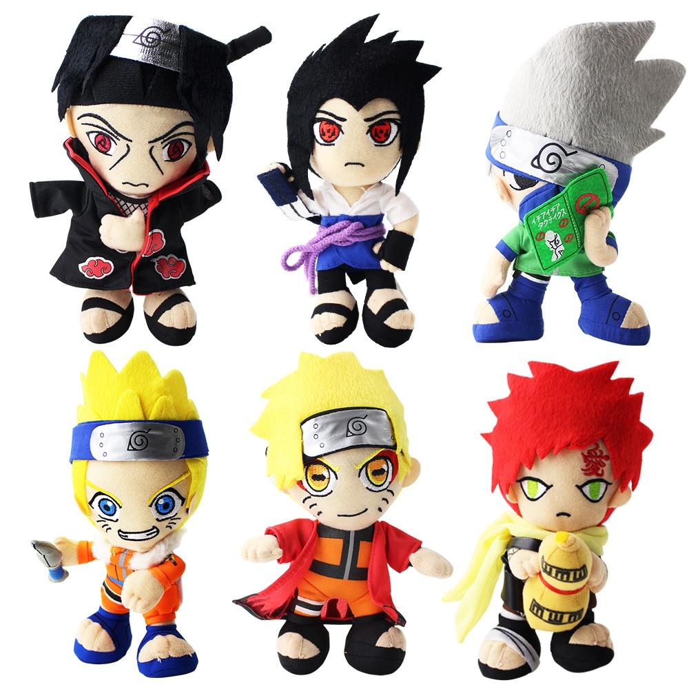 Anime Naruto Shippuden Hatake Kakashi Uchiha Sasuke Action Figur Spielzeug DE