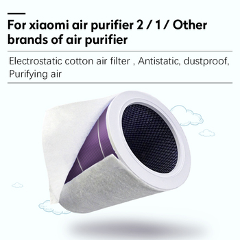 10 PCS Electrostatic Cotton Anti-dust Air purifier Filter for xiaomi mi 1/2/2S hepa air filter Universal Air purifier PM2.5 1