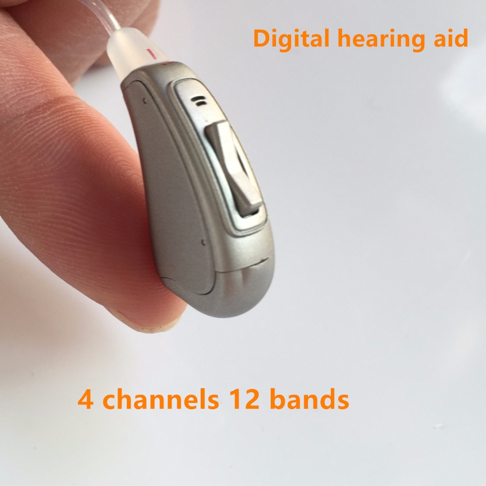 Amplificateur de son invisible de BTE OE de prothèses auditives d'ast Digital augmentant le son pour les personnes âgées mini légères de perte d'audition