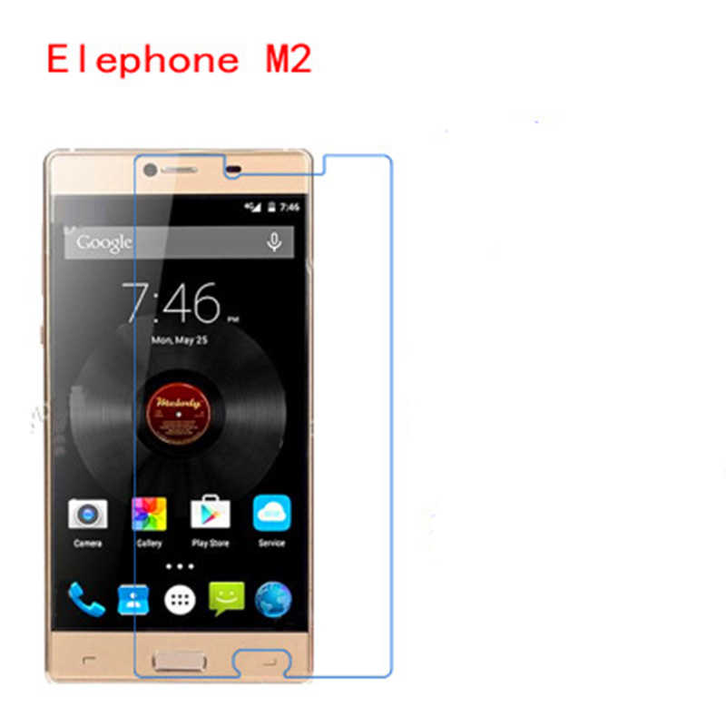 5 Pcs Ultra Thin Clear HD LCD Screen Guard Protector Film With Cleaning Cloth For Elephone M2.