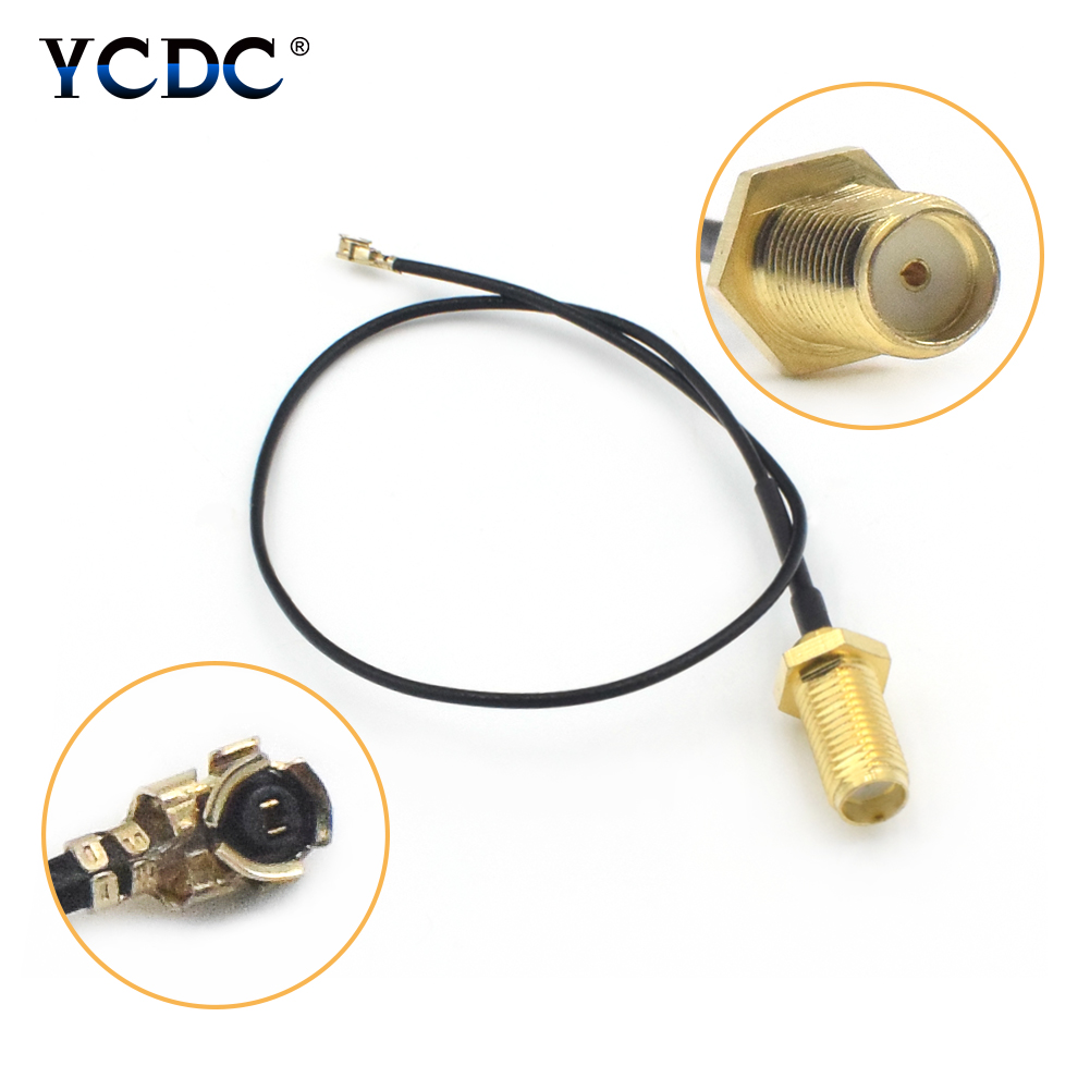 Disciplined 1/2/4 Pcs Brass & Pvc 21cm Long Sma Female To Ipx/u.fl Extension Coaxial Cable Connector For Rf Projects Wireless Lan Devices