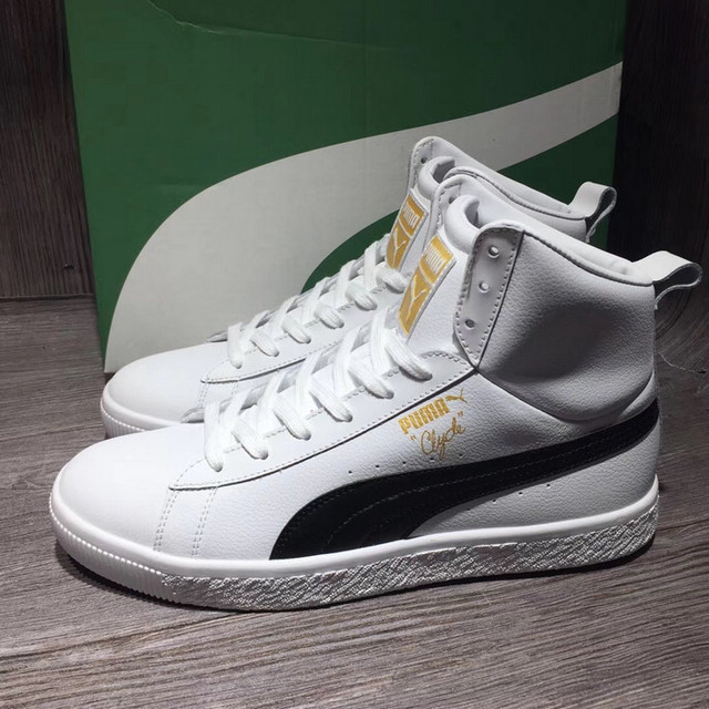 17c8ed19eb3b00 New Arrival PUMA High Top Men s shoes Sneakers Badminton Shoes-in ...