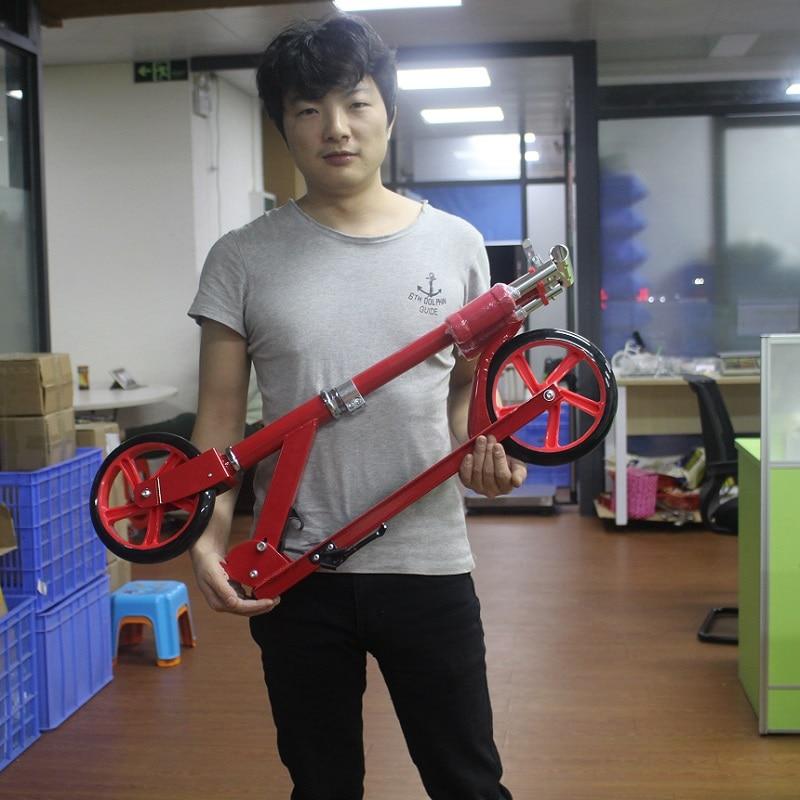adult children kick scooter foldable PU 2wheels bodybuilding all aluminum цена