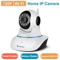 C25 wifi câmera vstarcam ip cam 720 p olho 4 & eyecloud app 15 posição predefinida IR cut suporte 64G cartão SD câmera de vigilância Em Casa