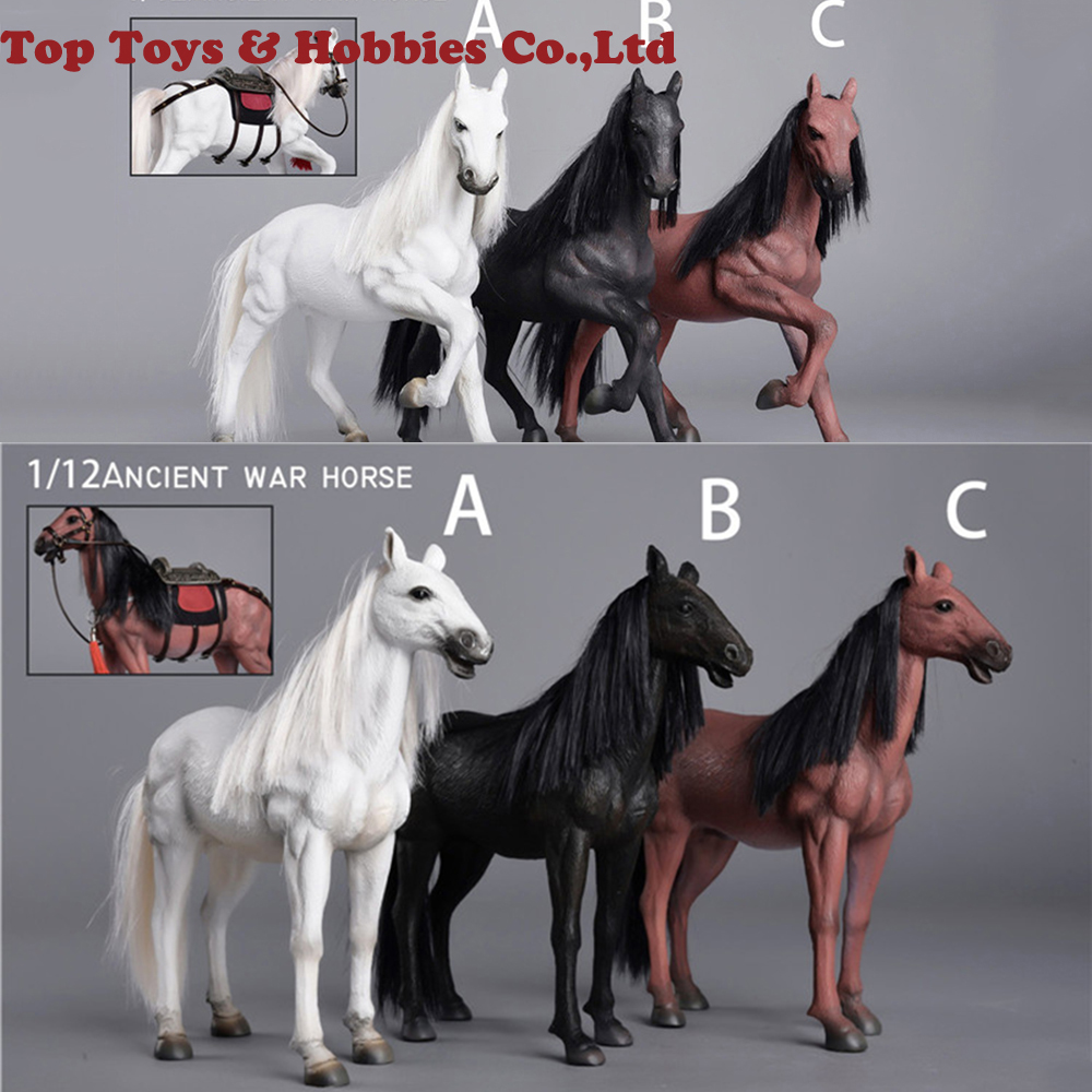 "Mr.Z 1//6 Maroon Germany Hanoverian Horse Race Horses Animal F 12/"" Action Figure"