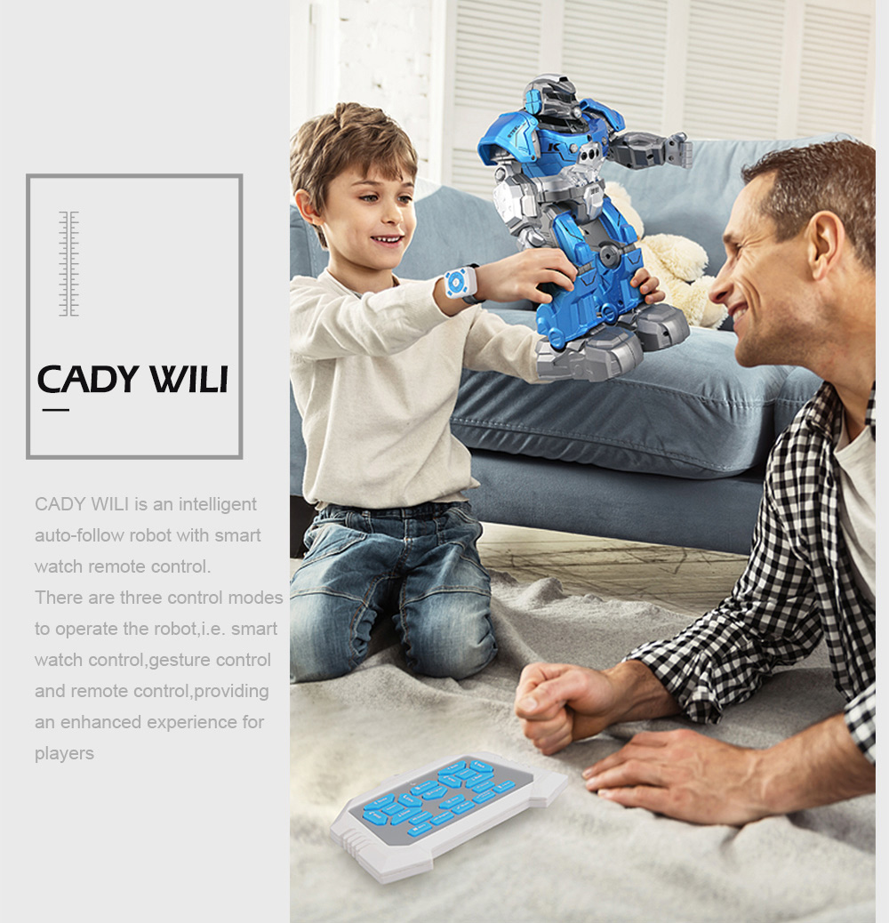 JJRC JJRC R5 RC Robot CADY WILI SmartWatch Intelligent Programing Education r (11)