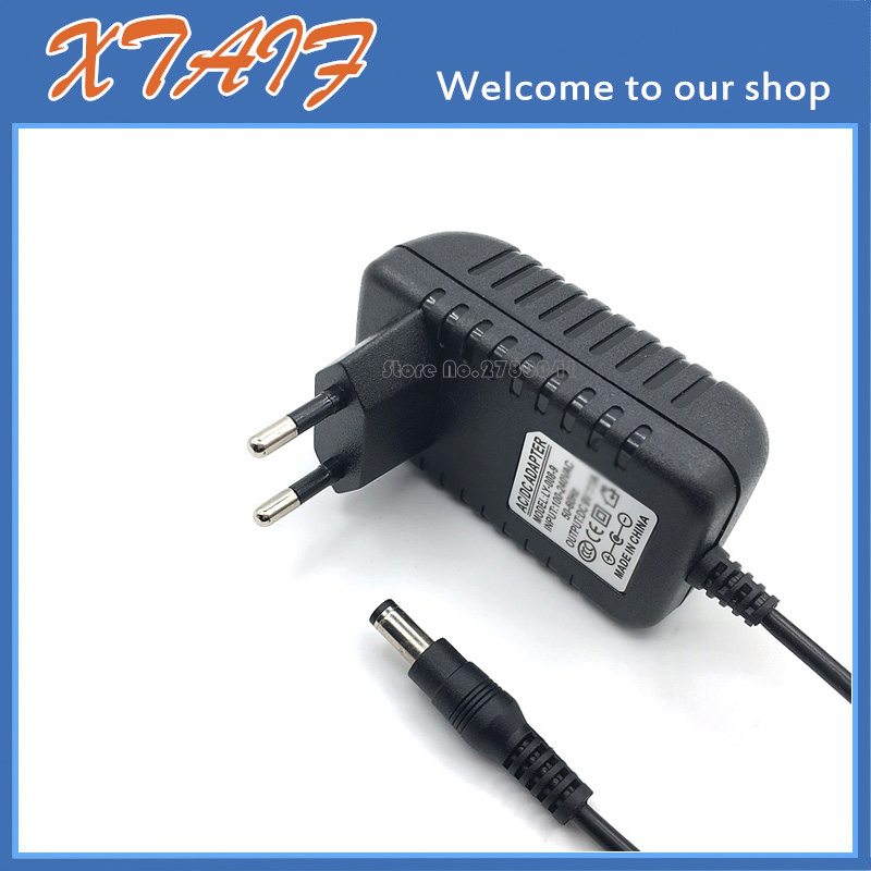 AC-DC Adapter Charger For Dymo Letratag Label Maker Printer 9V 2A Power Supply