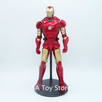 The Avengers Iron Man Mark3 1/6 Scale PVC Action Figure Collectible Model Toys Doll 30cm