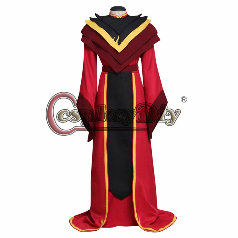 Lord Ozai Costume Cosplay Avater:The Last Airbender Adults Red Outfit Costume Robe Cosplay for Halloween Carnival Party ...