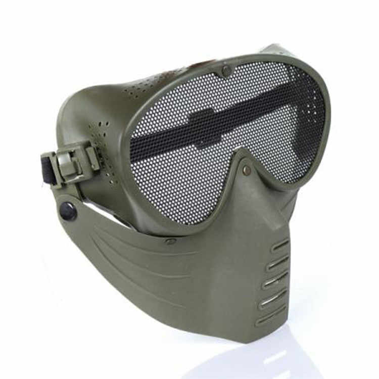 New Fly Airsoft Mask Outdoor CS Game Paintball Masks w/ Safety Guard Mesh Goggles Movie Prop the Mascara Protective Fly Mask